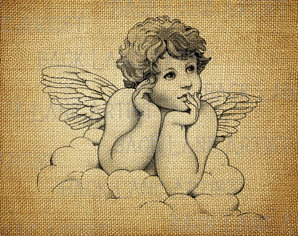 600x476 Angel Drawings