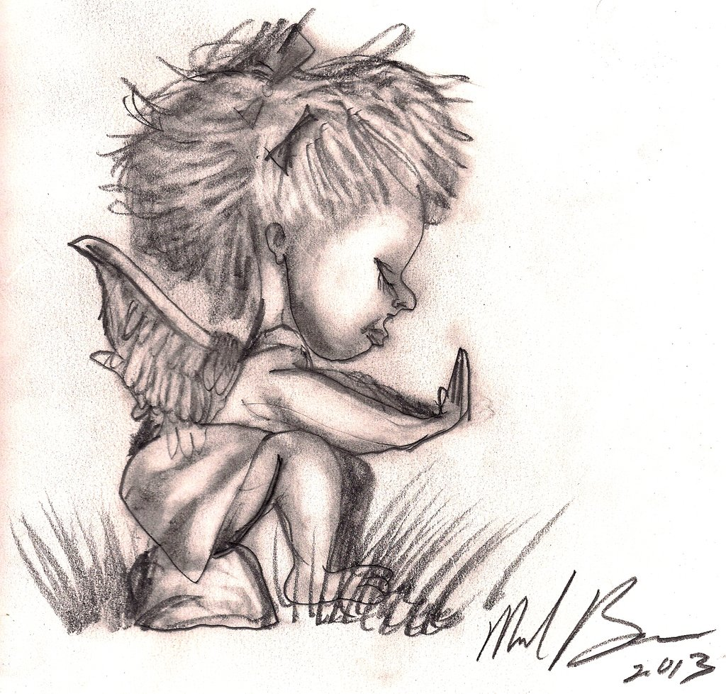 1024x978 Angel Baby Tattoo