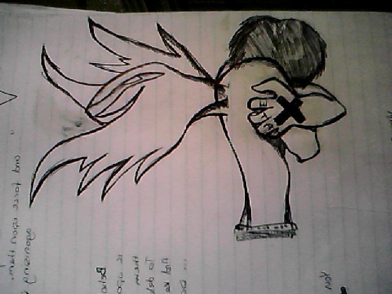 800x600 Me Pree Amaing Emo Angel Boy Drawing By Thieremofriend