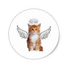 236x236 My Cherub Round Stickers Angels Round Stickers