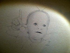 300x225 Angel Child Drawings