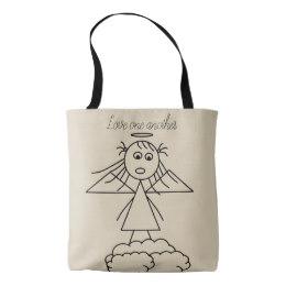 260x260 Cute Girls Drawing Bags Amp Handbags Zazzle Canada