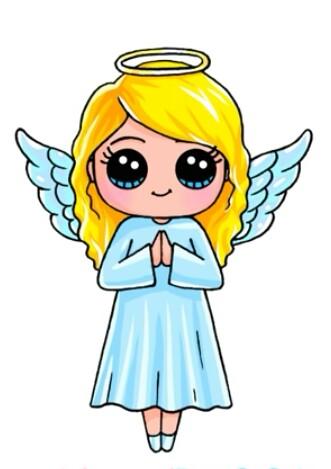 331x469 Angel Bydraw So Cute Art