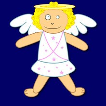 220x220 Angel Coloring Pages, Free Online Games, Drawing For Kids, Kids