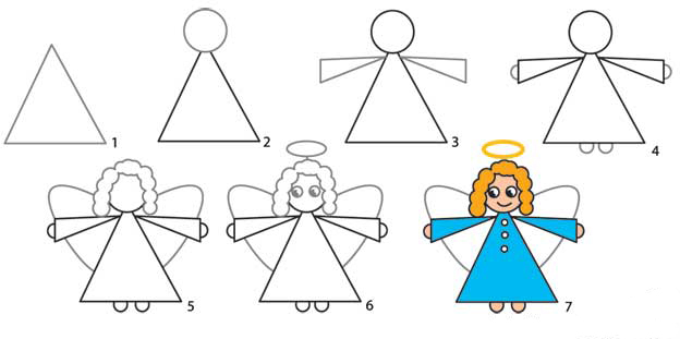 624x311 Pictures Draw An Angel For Beginners,