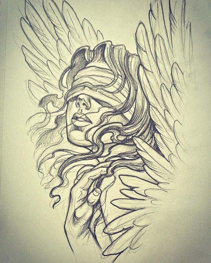 736x920 Gallery Angel Sketch,