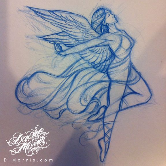 576x576 Image Result For Angel Drawing Humans Tattoo