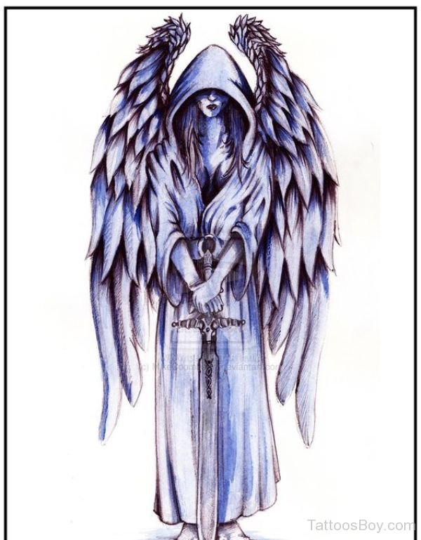 600x769 Guardian Angel Tattoos Tattoo Designs, Tattoo Pictures Page 5