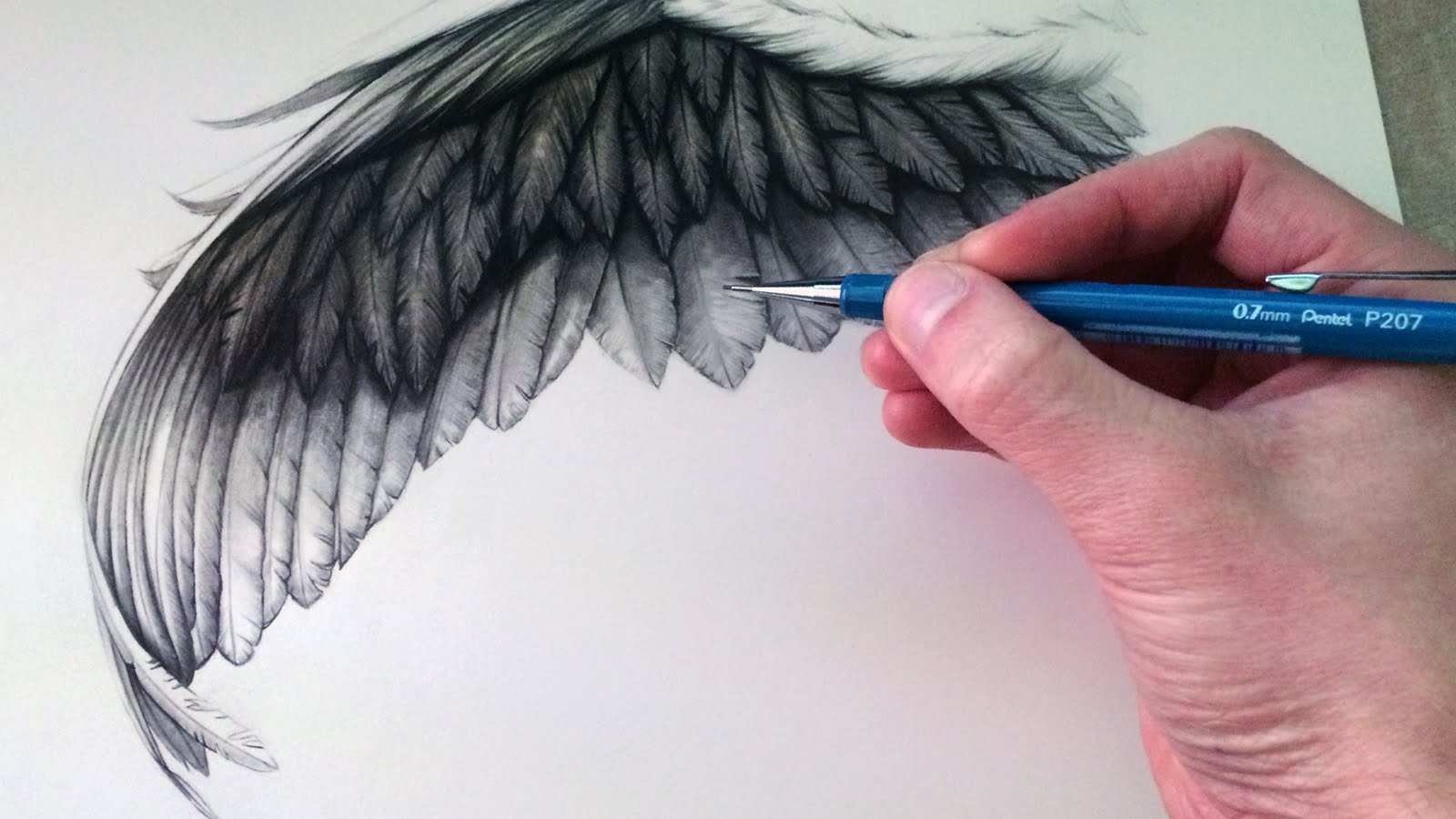 1600x900 How To Draw A Wing