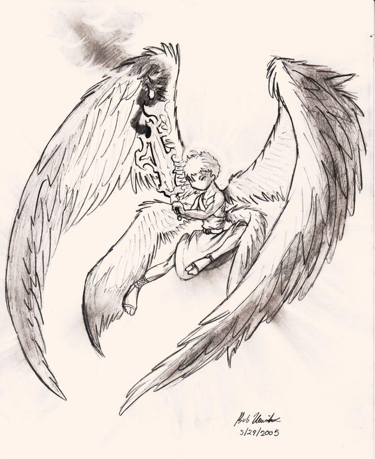 736x901 39 Best Drawing Archangel Gabriel Tattoos Images
