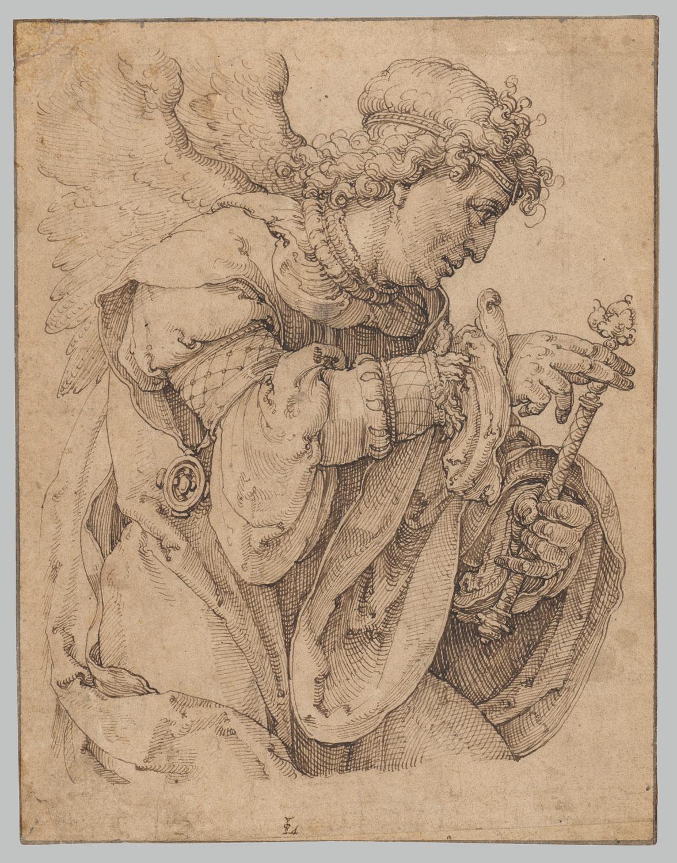 1176x1500 The Archangel Gabriel Announcing The Birth Of Christ Lucas Van