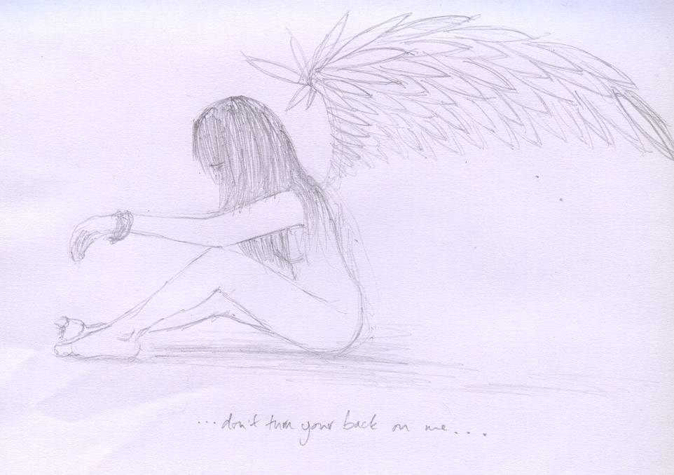 962x678 Sad Angel Girl By Hollyp0p