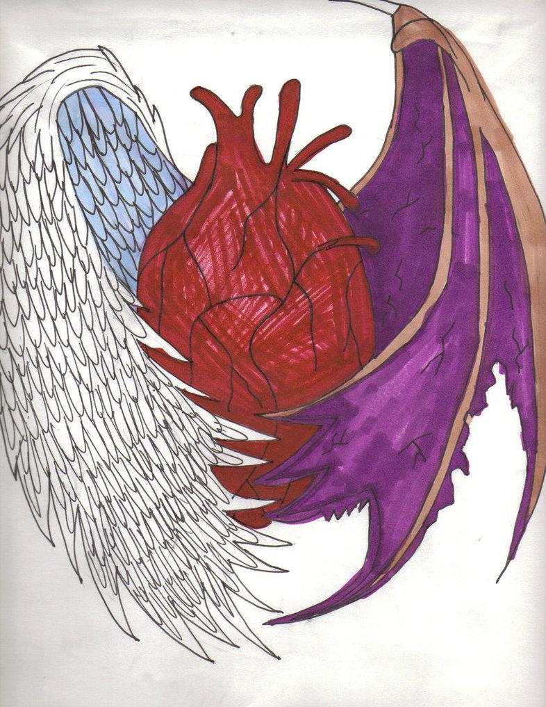 786x1017 Devil Angel Heart By Ichigo Chan12