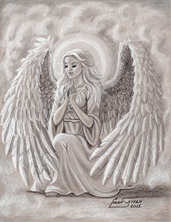 600x779 An Angel's Prayers By Artsy50