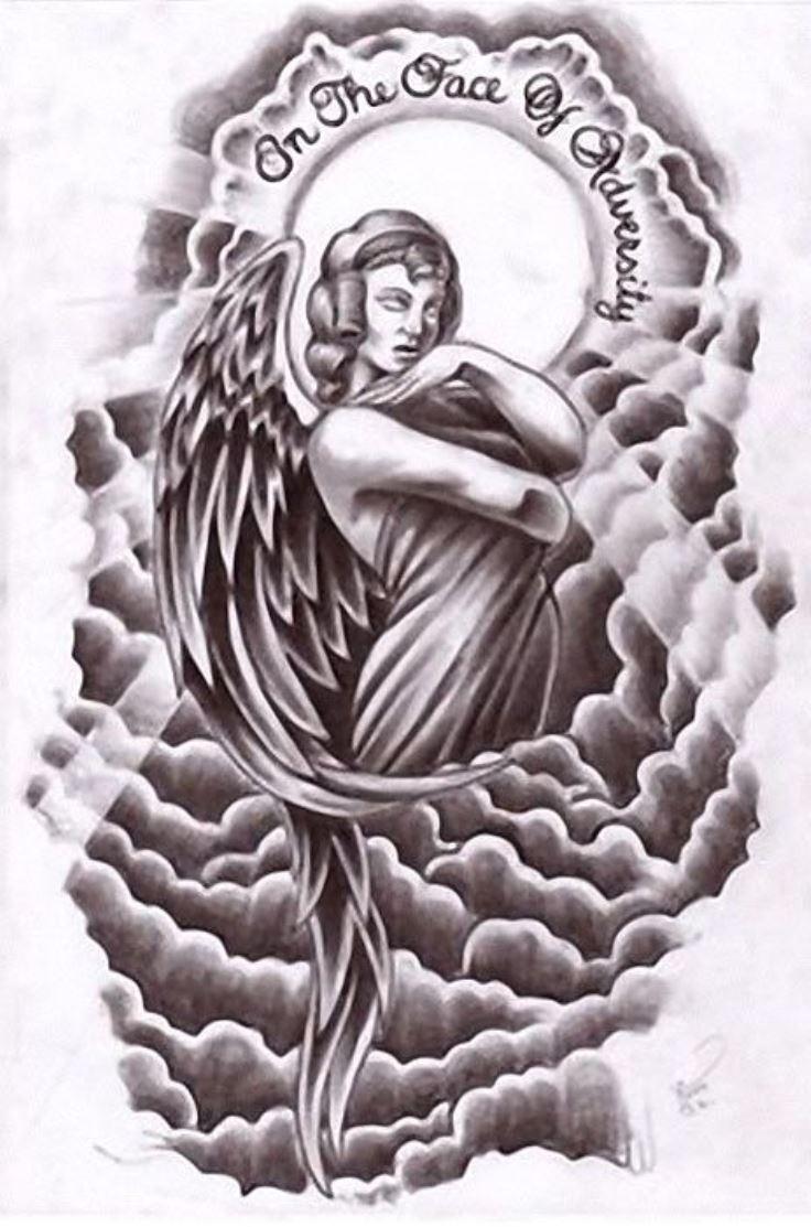 736x1113 20 Angel Tattoos Tattoofanblog