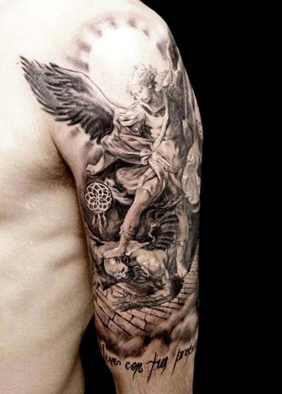 890x1240 Angel Tattoo Drawing Demon Tattoos