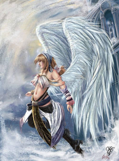 500x675 58 Angel Drawings Illustrations And Sketches