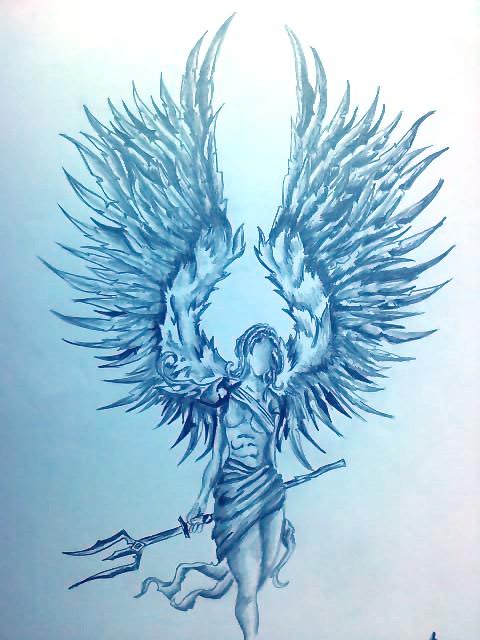 480x640 Warrior Angel By Isztar89