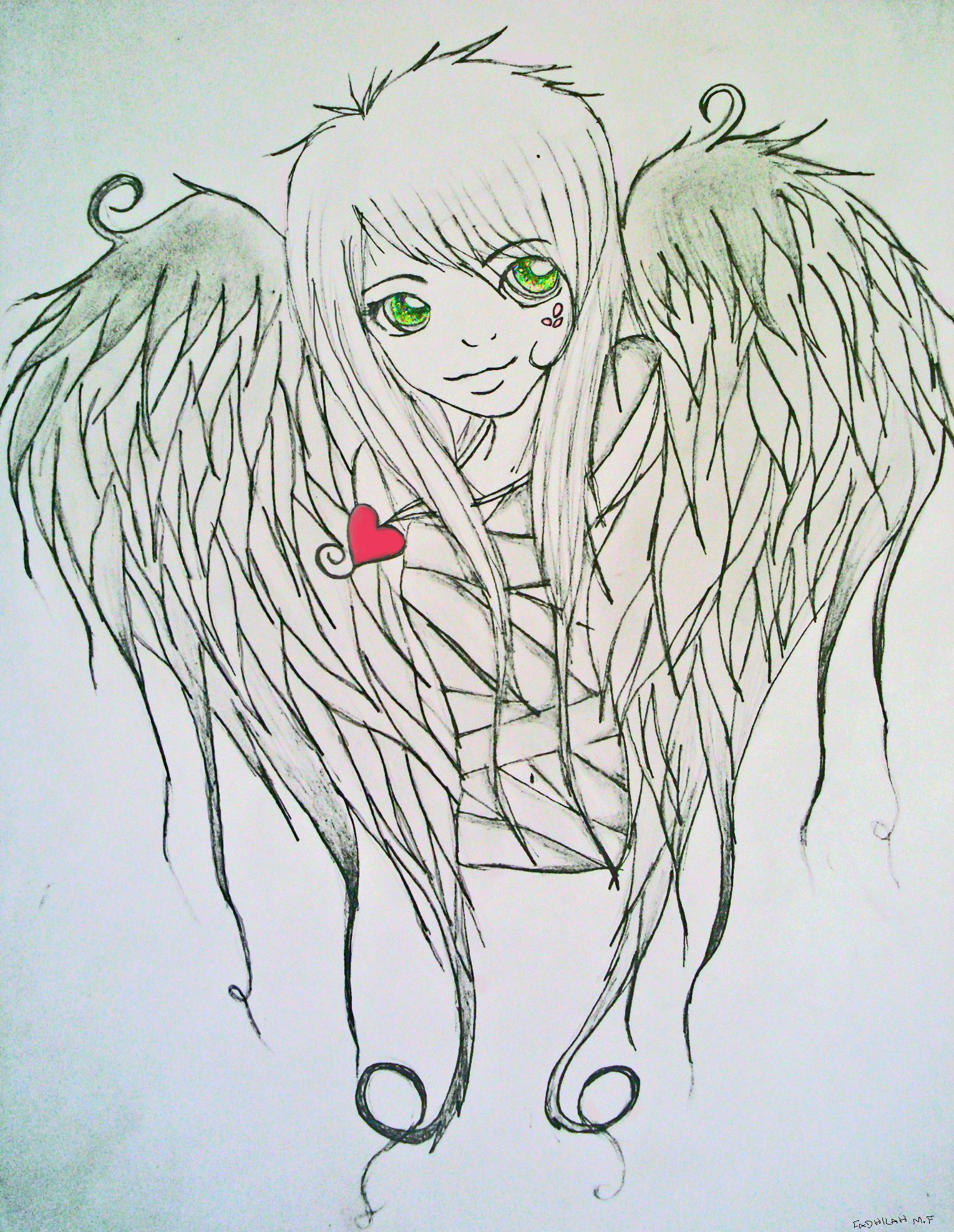1529x1974 Angel Wings. By Rad Fad