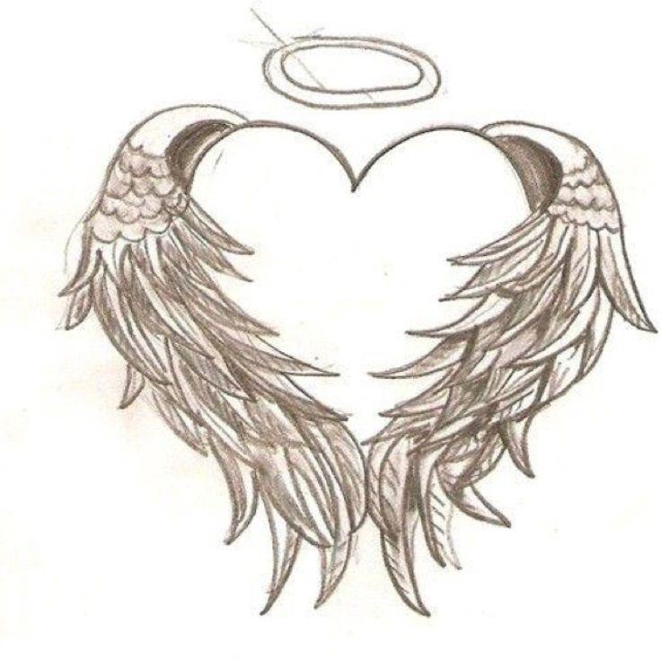 736x736 Angel Wings Tattoo Drawings Tats Tattoo Drawings