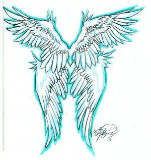 300x317 Demon Angel Wings