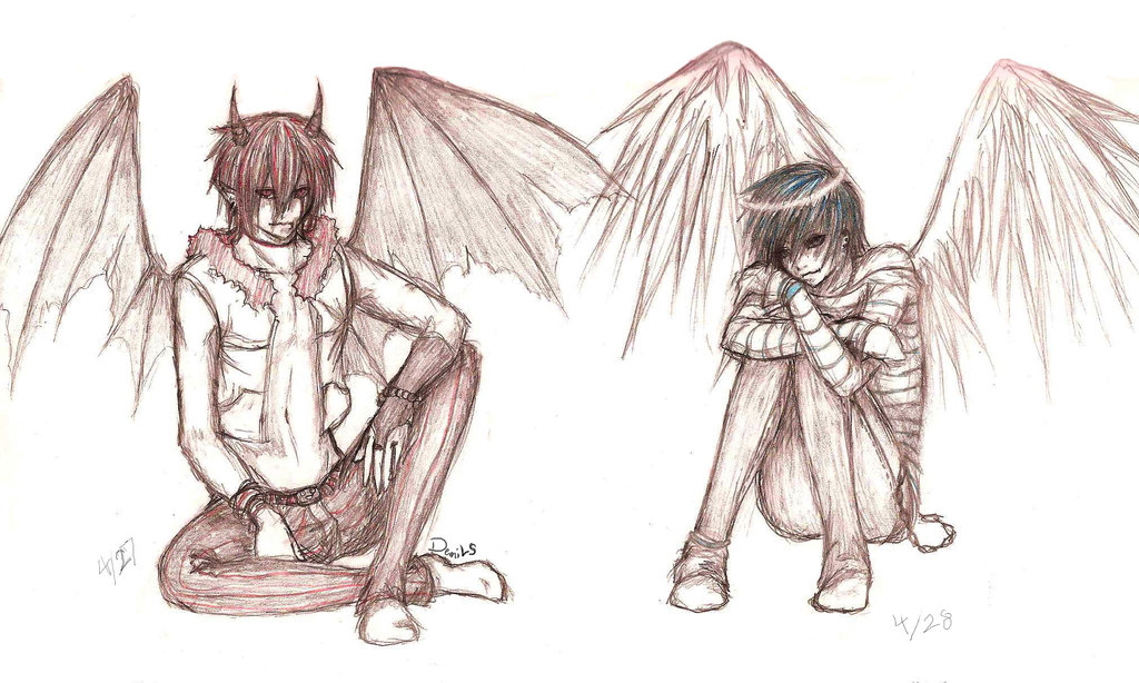 1024x614 demons and angels by adai the human angel on deviantart