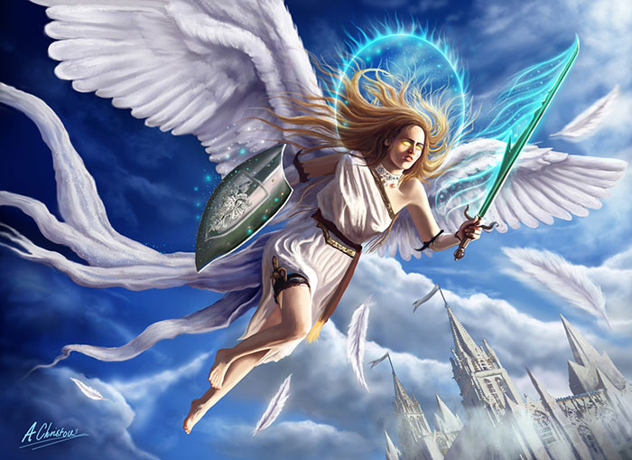 700x509 58 Angel Drawings Illustrations And Sketches