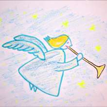 220x220 How To Draw Christmas Angel