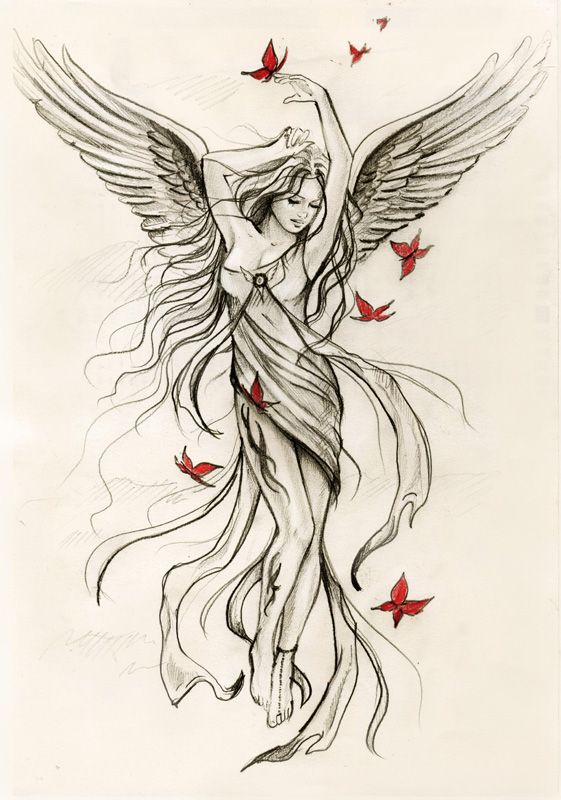 561x800 sky angel sketch for spiral direct by anna marine on deviantart