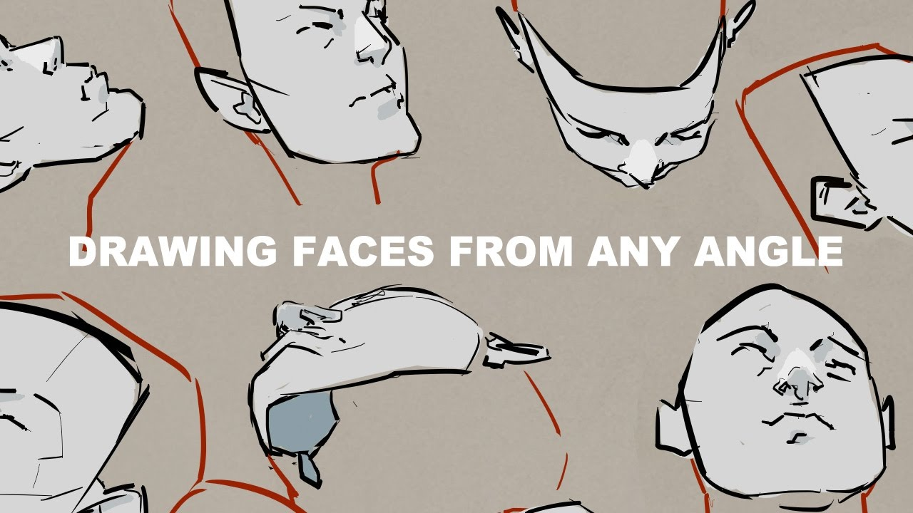 1280x720 Drawing Faces From Any Angle