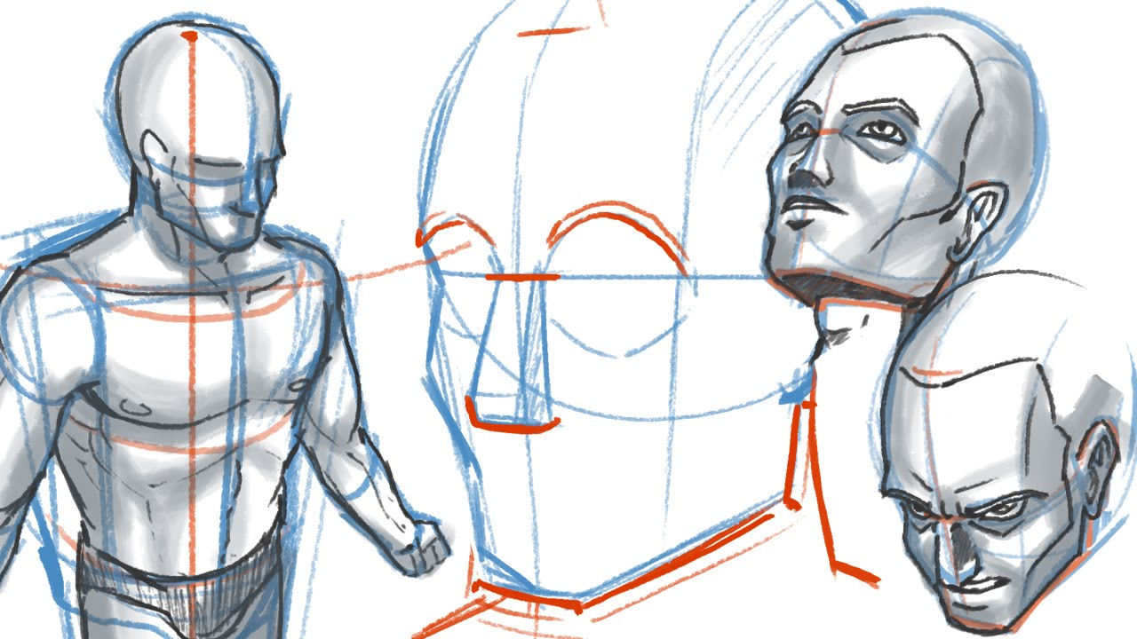 1280x720 How To Draw People On Difficult Angles