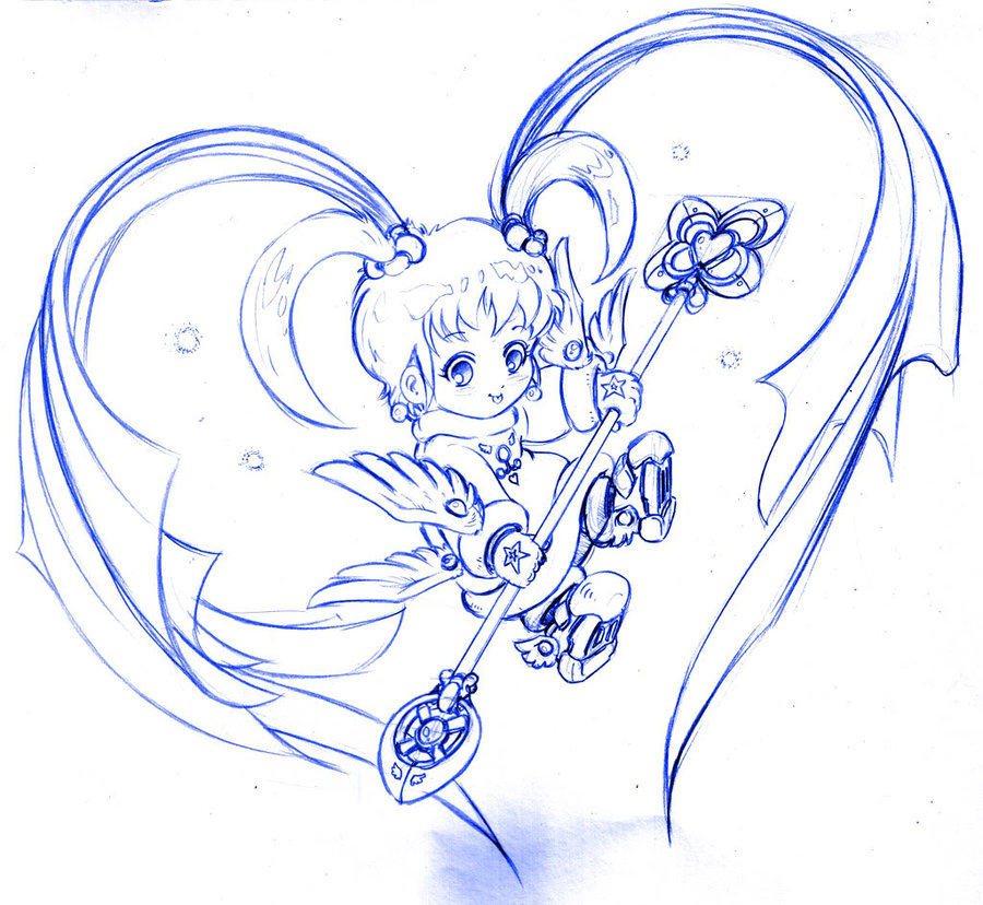 900x828 Cute Cute Angle Pencil Art 1 By Sinms