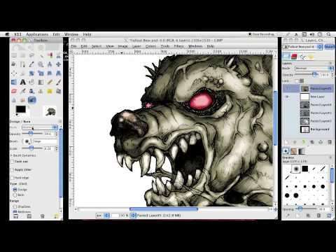 480x360 How To Draw Series Coloring An Angry Bear