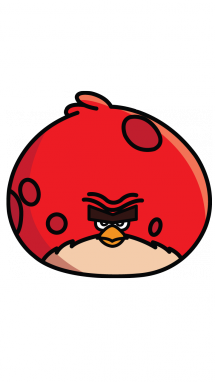 215x382 How To Draw Angry Birds, Terrence, Easy Step By Step Drawing Tutorial