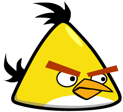 400x367 How To Draw Yellow Angry Bird With Easy Step By Step Drawing