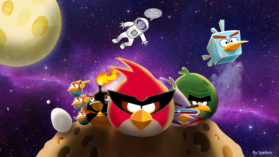 900x506 Angry Birds Space Drawing 2 Edition By Speliers