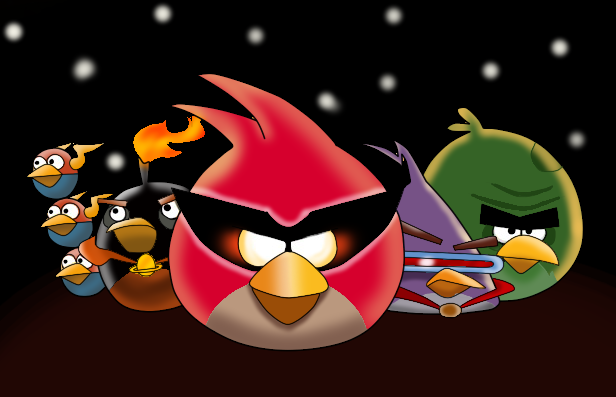 616x397 Angry Birds Space By Umineko127
