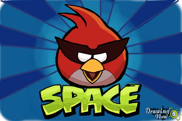 600x400 How To Draw Space Angry Birds