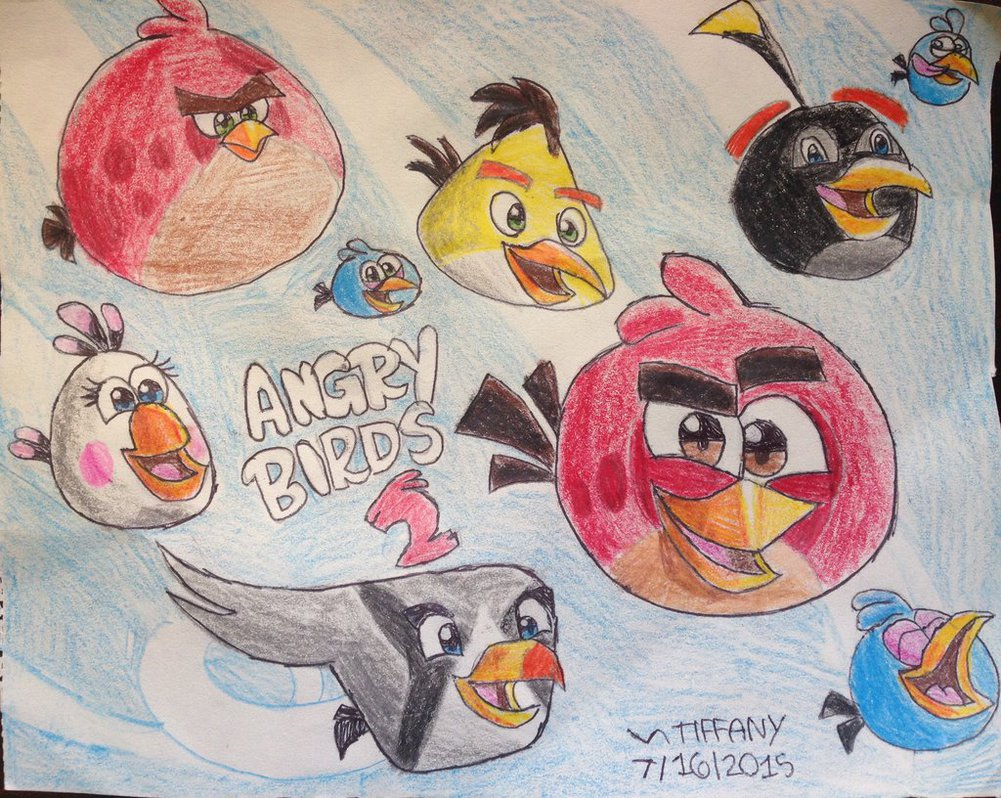 1001x798 Angry Birds 2 By Angrybirdstiff