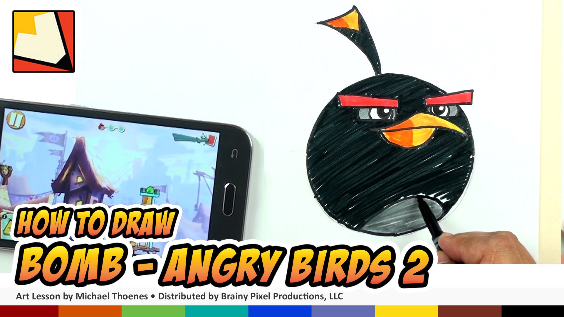 1920x1080 How To Draw Angry Birds 2 Characters