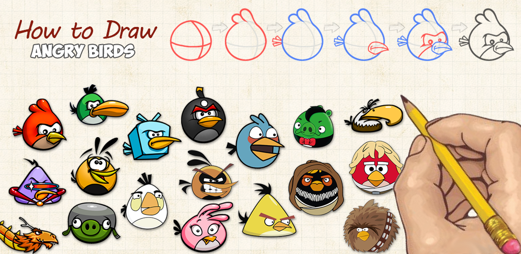 1024x500 How To Draw Angry Birds Appstore For Android