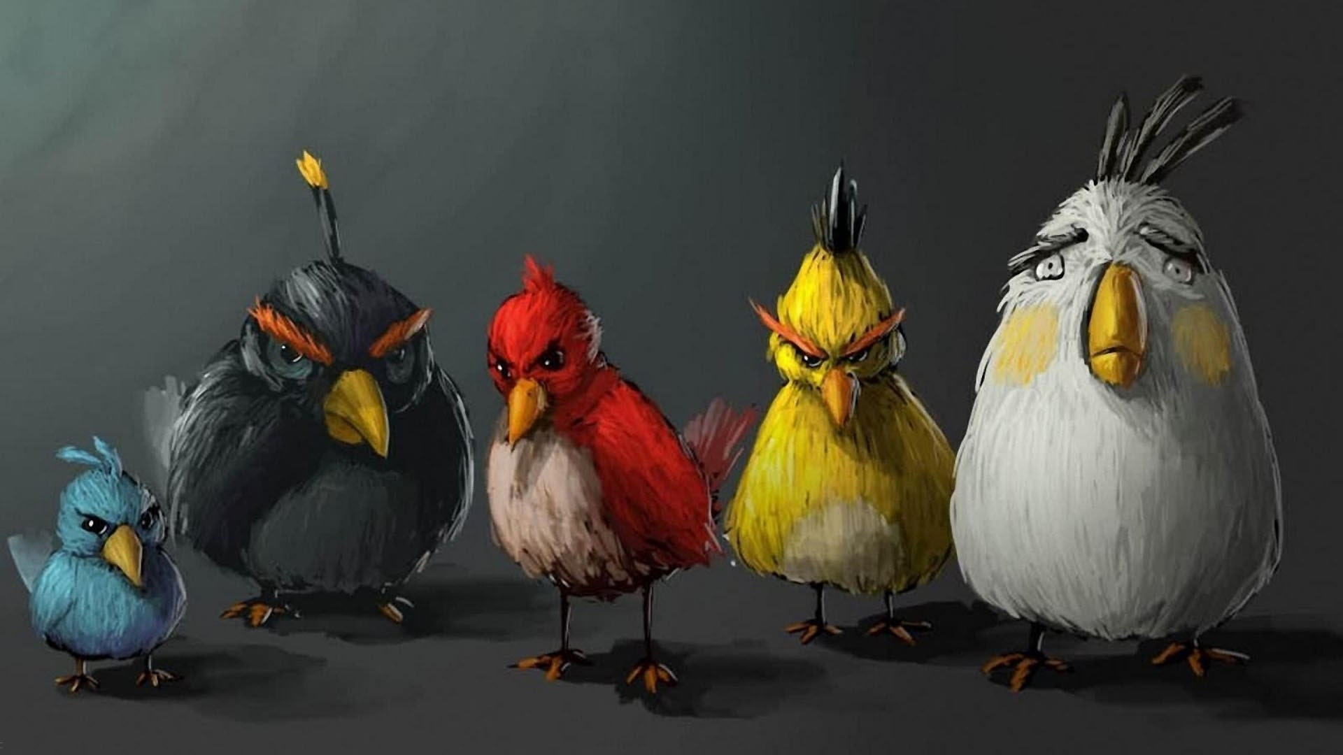 1920x1080 Epic Angry Birds Timelapse Drawings (Cool Music)