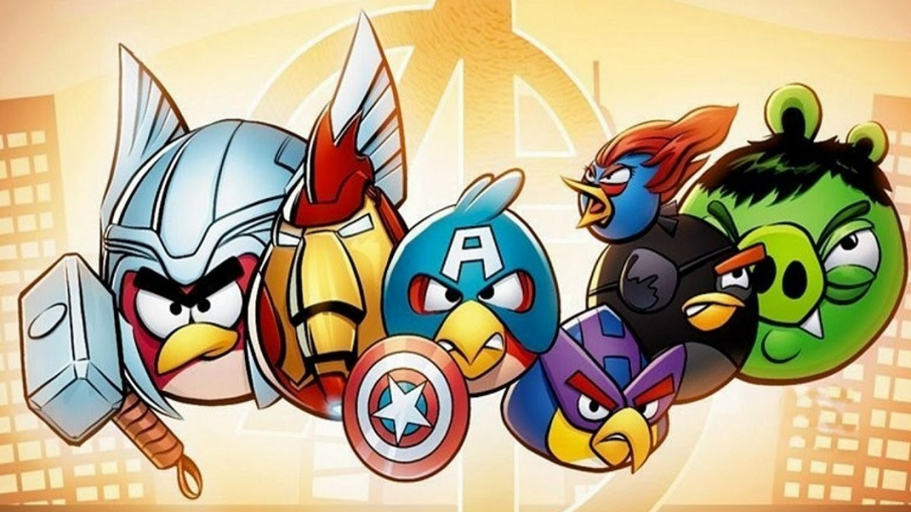 1280x720 How To Draw Angry Birds Avengers