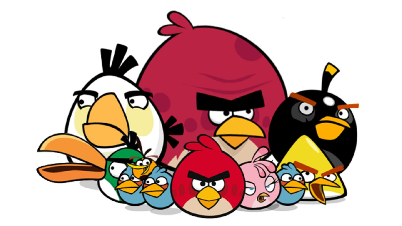 1280x720 Angry Birds Drawing Pictures How To Draw Angry Birds (All Birds