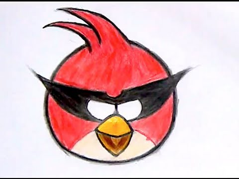 480x360 How I Draw Big Red Bird Angry Birds Space 1 [Reup]