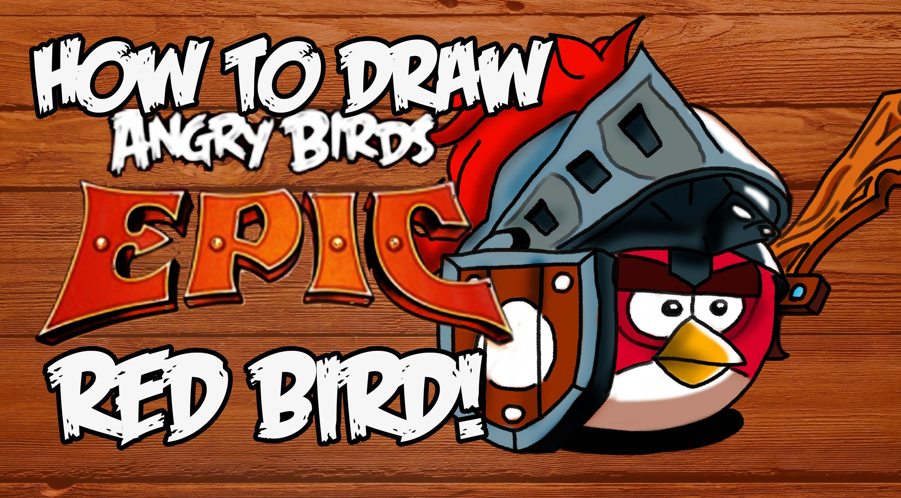 3000x1658 How To Draw Angry Birds Epic Red Bird!!!