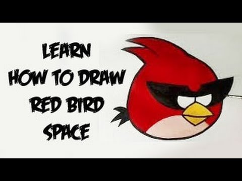 480x360 Learn How To Draw Angry Birds Space