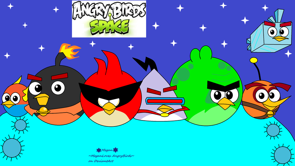 1024x575 Angry Birds Space By Meganlovesangrybirds