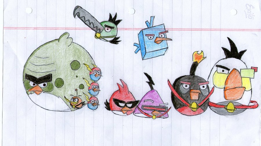 900x505 Angry Birds Space By Maestrox545