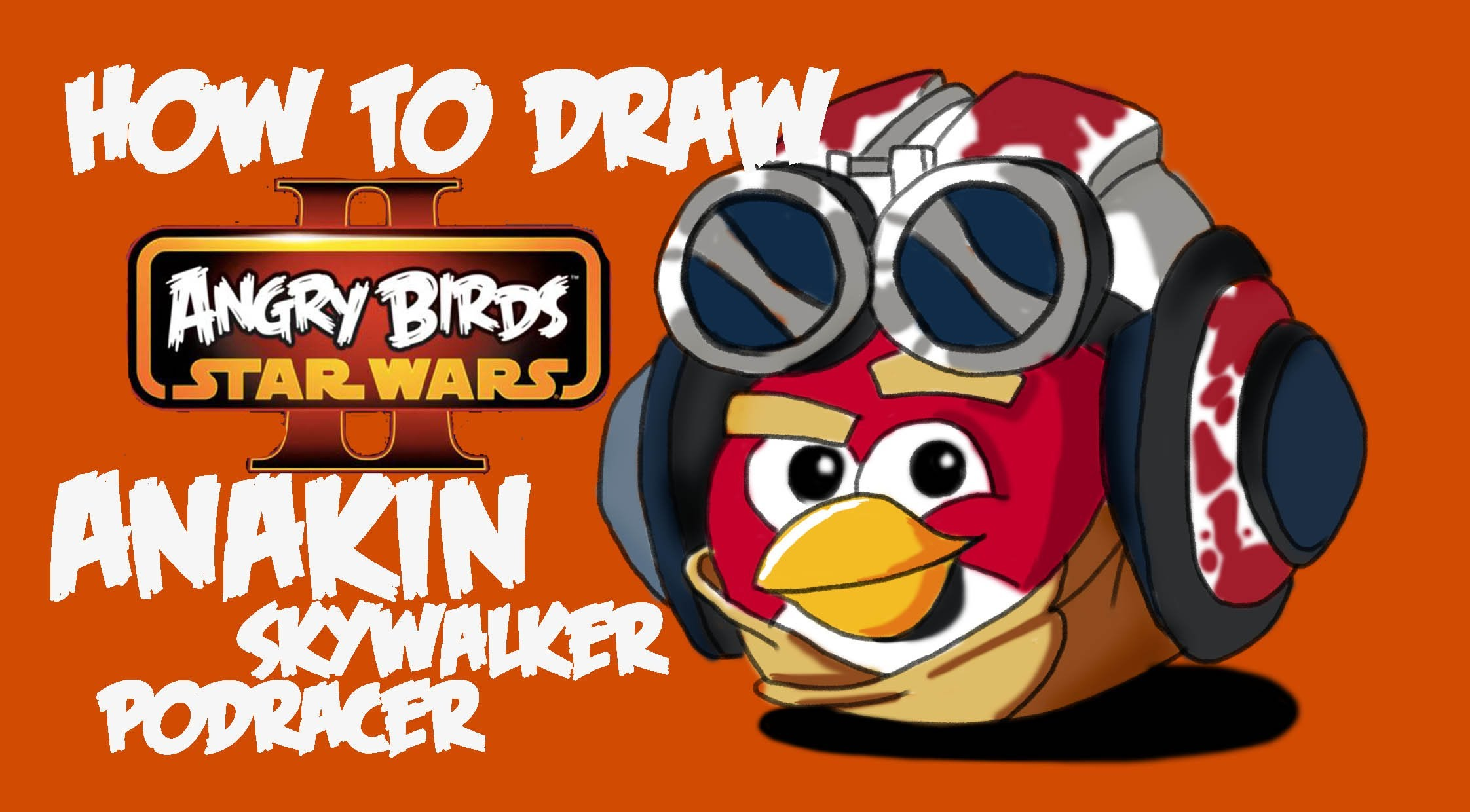 2244x1240 How To Draw Anakin Skywalker Podracer Version (Angry Birds Star